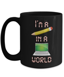 Pencil In a Computer World Mug Baby Boomers