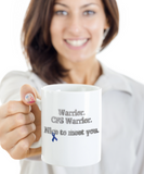 Chronic Fatigue Syndrome CFS Warrior Mug Ribbon