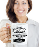 Not Obsessed w/Scottish Terriers Mug Dog Lovers