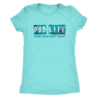 POD Life Shirt - Design Upload Profit Repeat Women's Cut