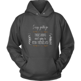 Sorry Gotta Go Those Books Aren't Going To Read Themselves Hoodie