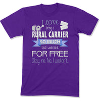 Rural Carrier Shirt | Mail Carriers T-shirt | Post Office Employee Gift
