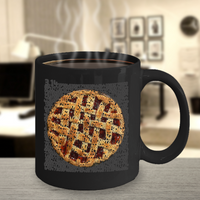 Pi Day Mug - Cherry Pie Made of Pi Digits