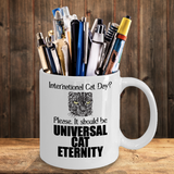 International Cat Day Mug for Cat Lovers