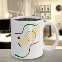 Guitar Mug Acoustic Guitar Poetry Strings