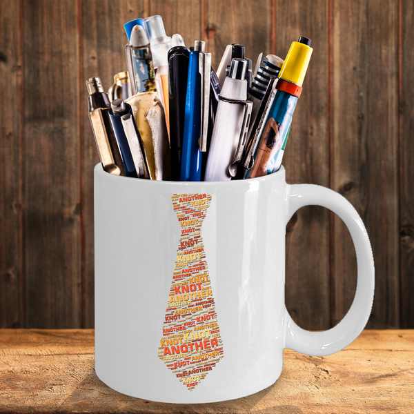 Men's Tie Mug Knot Another Tie Gag Gift for Father