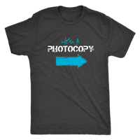 Funny Twin Brothers Shirt - He's a Photocopy