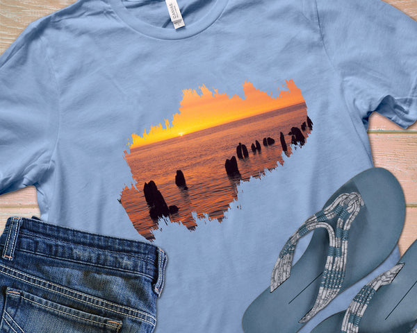 Lake Superior Sunset Shirt | Great Gift for Lake Lovers