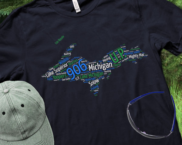 Upper Peninsula of Michigan Shirt | 906 Lake Superior U.P.