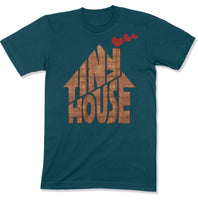 Tiny House T-shirt | Small House Living | Chimney With Hearts