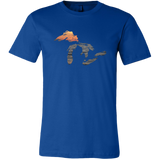 Great Lakes Shirt | Sunset Over Water | Lake Superior, Michigan, Huron, Ontario, Erie