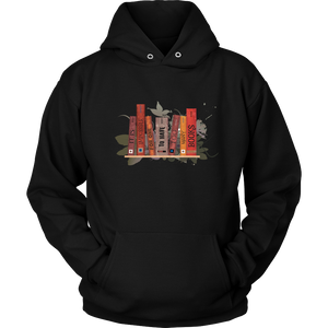 It Is Impossible For One to Have Too Many Books Hoodie