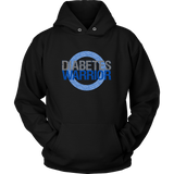 Diabetes Warrior Hoodie I Got This! With Blue Awareness Circle