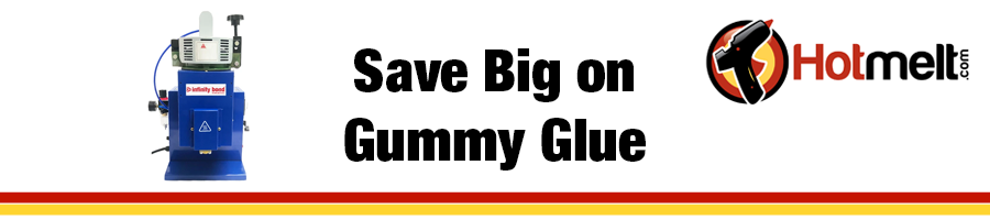 Save on Gummy Glue with a Pneumatic Dispensing Applicator
