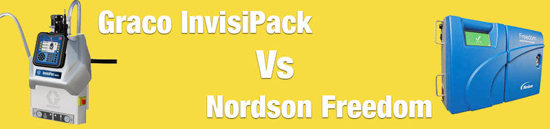Graco InvisiPack vs Nordson Freedom Tankless Systems