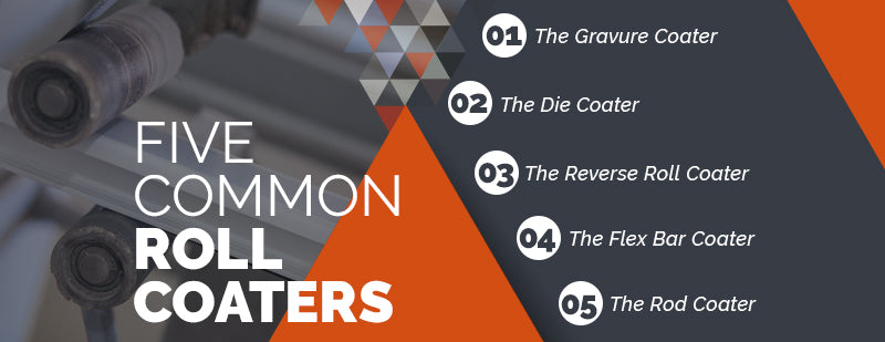 5 common Roll Coaters