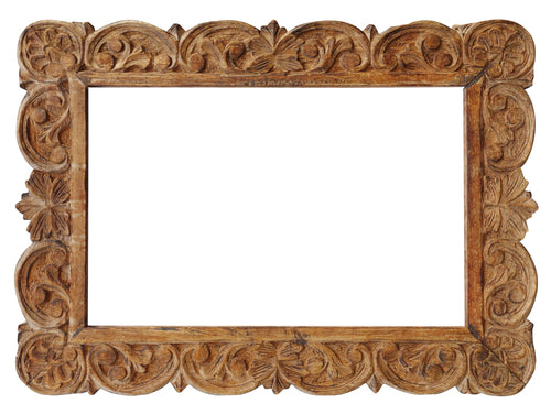 Woodworking created filagree frame