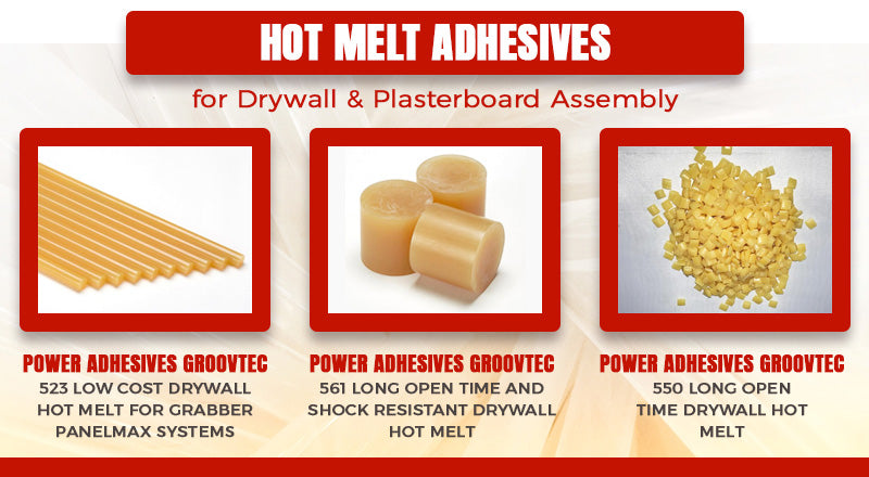 hot melt adhesives graphic