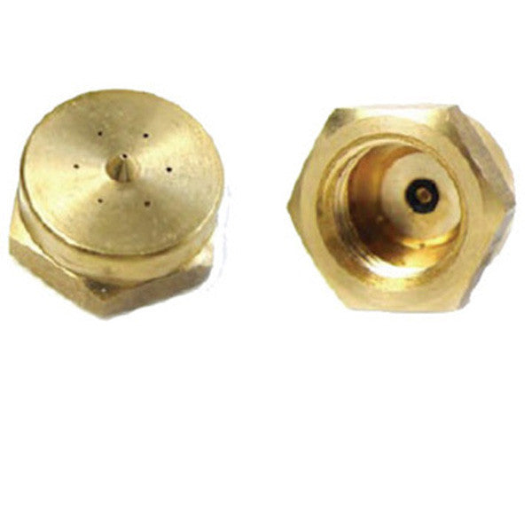"1"" Unibody Swirl Brass Nozzle with O-ring"
