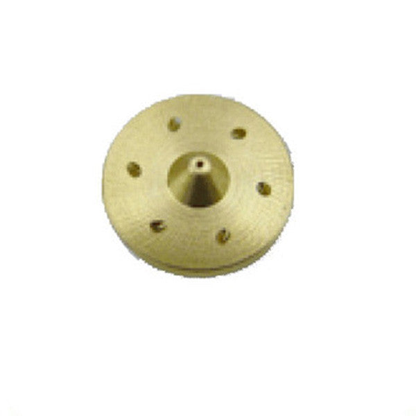 "2"" Wide Swirl Brass Hot Melt Nozzle"