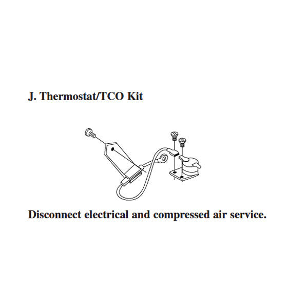3M 9209 PG II Thermostat/TCO Kit