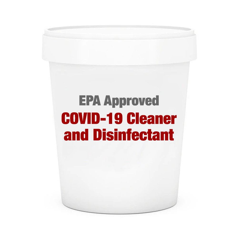EPA Approved COVID-19 Bulk Industrial Cleaner and Disinfectant