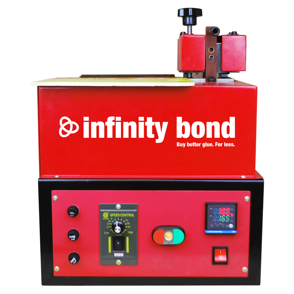 Infinity Bond Hot Melt Mini Roll Coater