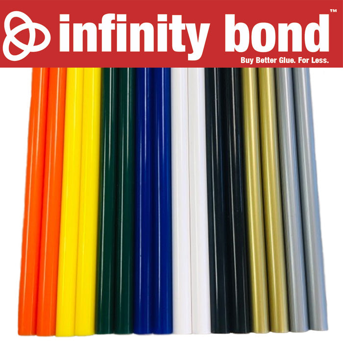 Infinity Bond Colored Glue Sticks Variety Pack