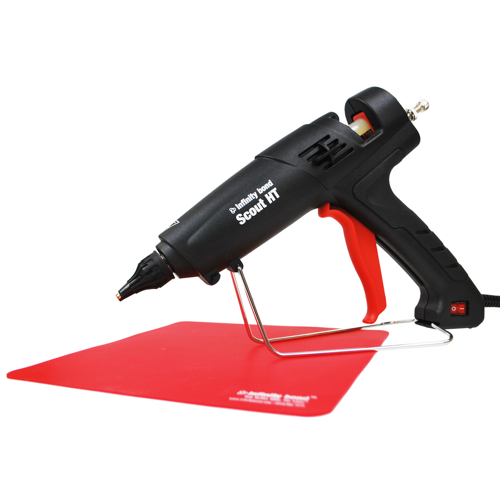 Infinity Bond Scout HT Hot Melt Glue Gun with Silicone Drip Mat