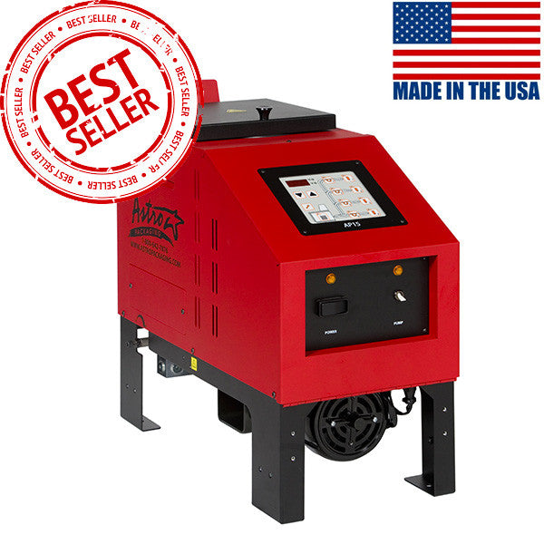 Astro AP15 bulk hot melt tank with 15 pound melter.
