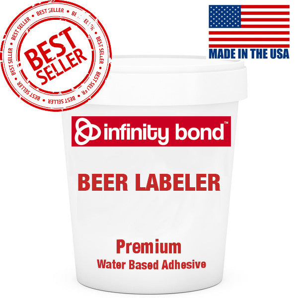 Premium Beer Bottle Labeling Cold Glue Water Based Adhesive