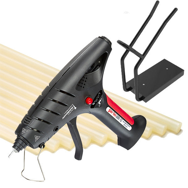 Cordless hot melt glue gun kit