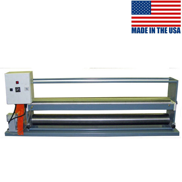 Datco Versa Cold Series cold glue top coater and roller