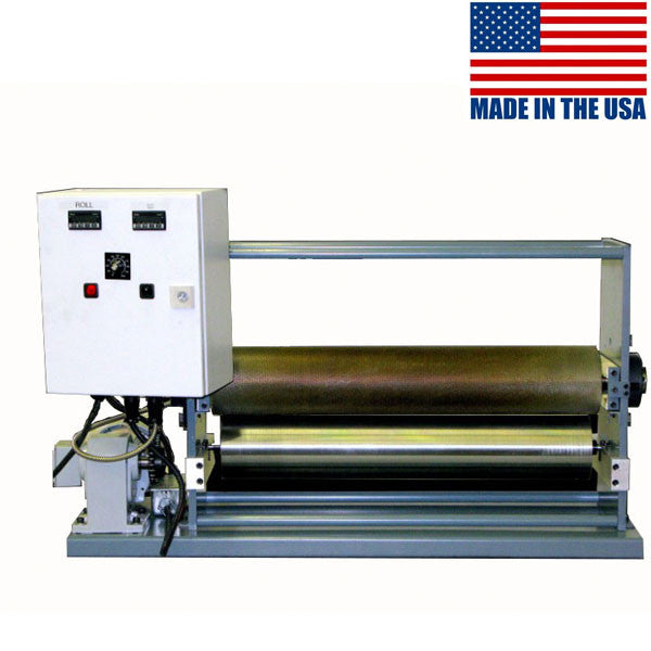 Hot melt top coater machine