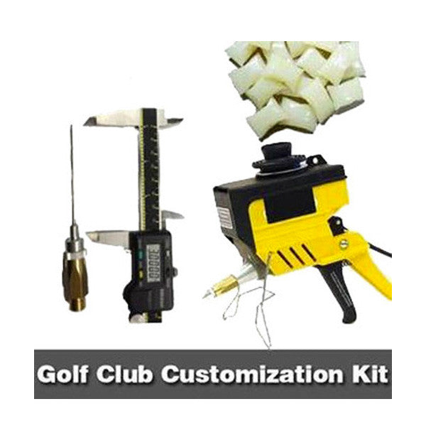 Golf club customization hot melt kit - bulk