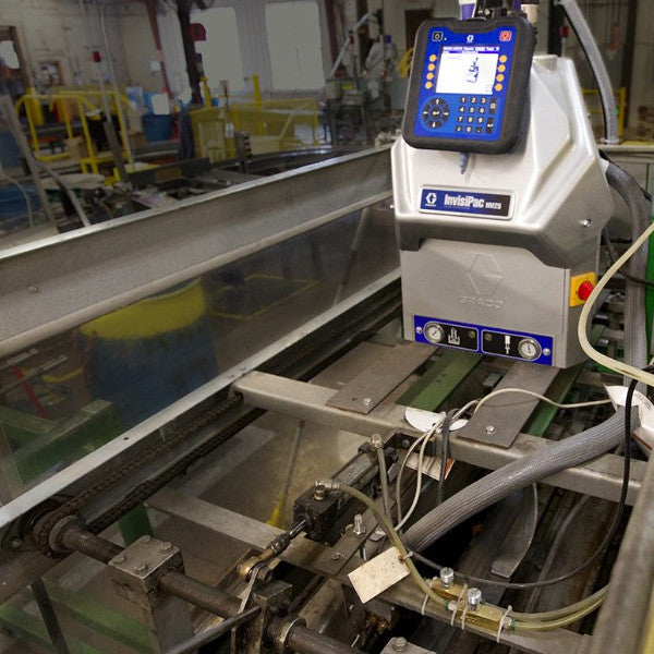 Graco HM25 Mounted in Packaging Line
