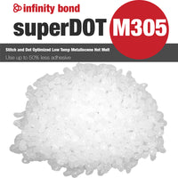 Infinity Bond SuperDOT M305 Low temp freezer grade metallocene hot melt thumbnail