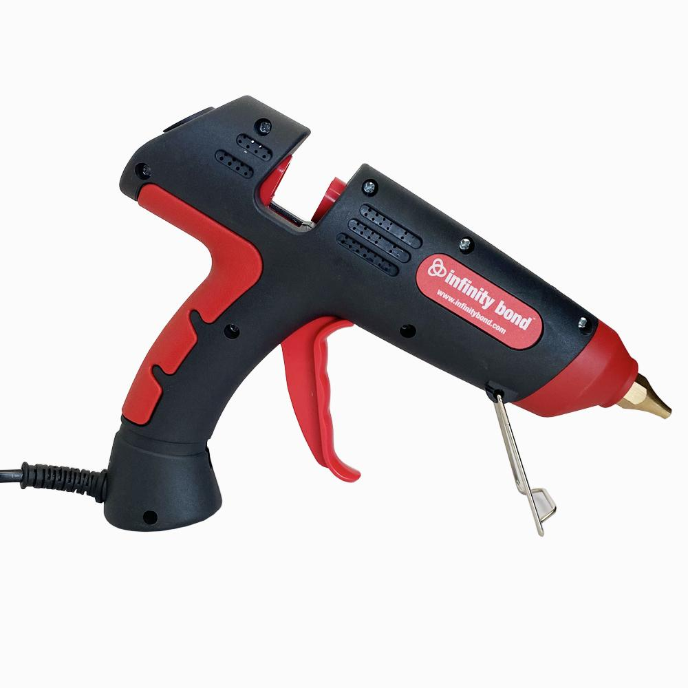Infinity Bond Mojo Entry Level Hot Melt Glue Gun with Stable Stand