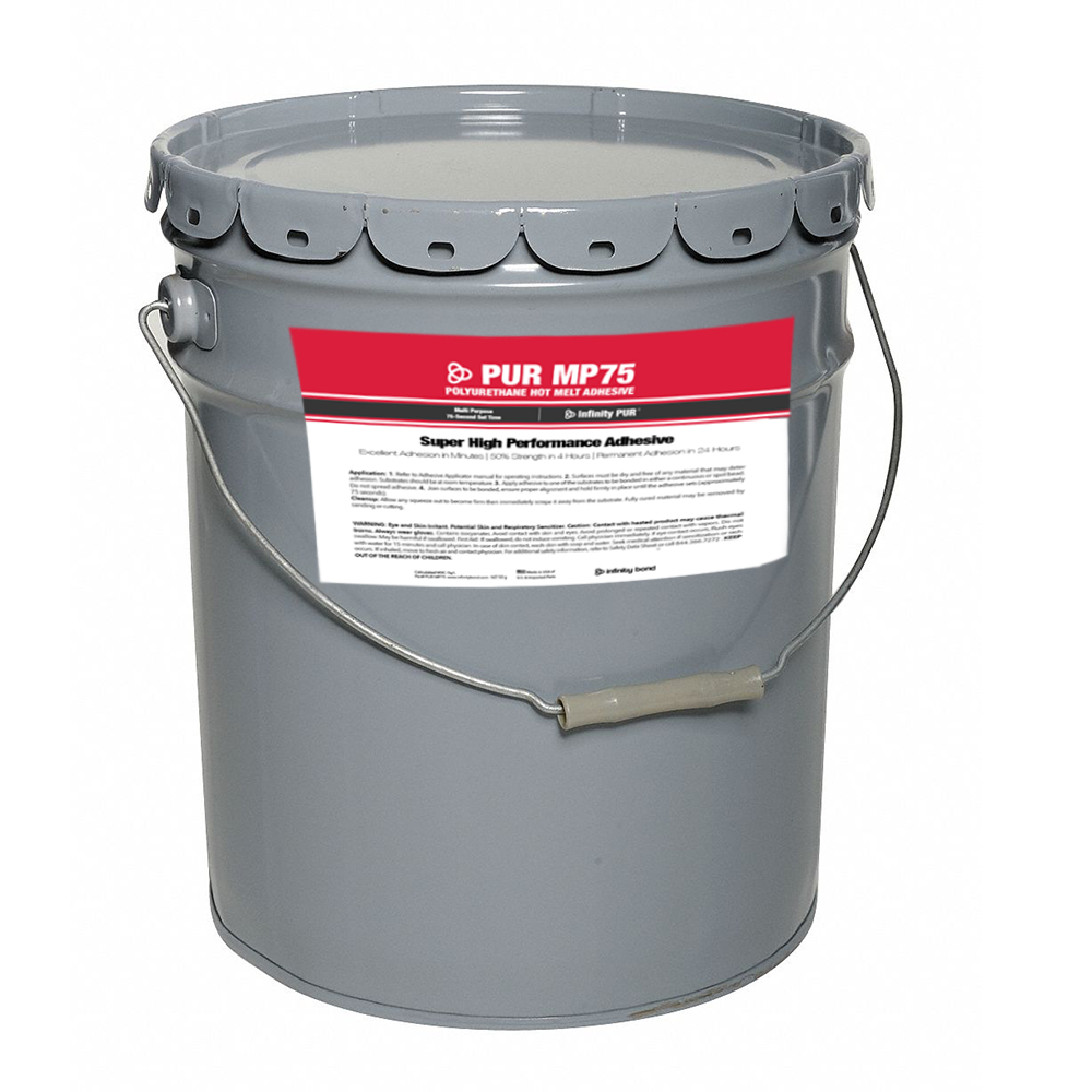 Infinity Bond MP 75 PUR Hot Melt 5 Gallon Pail