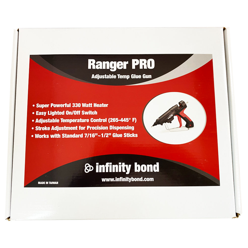 Infinity Bond Ranger Pro Hot Melt Glue Gun Packaging