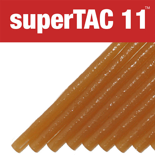 "Infinity Bond SuperTAC 11 5/8"" high performance hot melt glue stick"