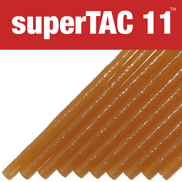 "SuperTAC 11 high performance 1/2"" hot melt glue stick"