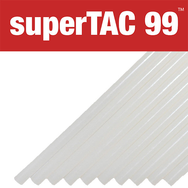 "Infinity SuperTAC 99 acrylic 1/2"" hot melt glue sticks"