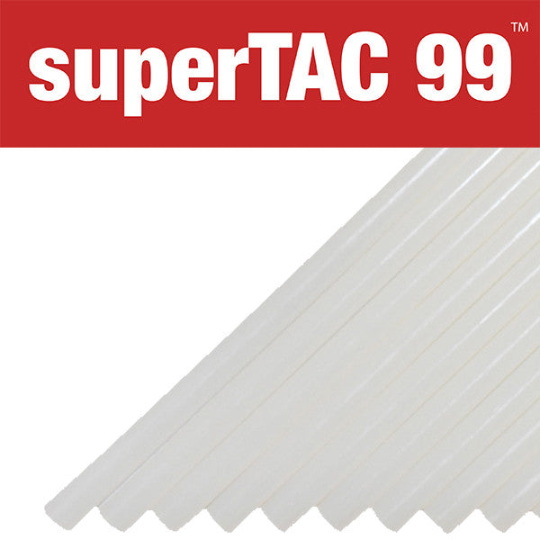 "Infinity SuperTAC 99 acrylic 5/8"" hot melt glue sticks"