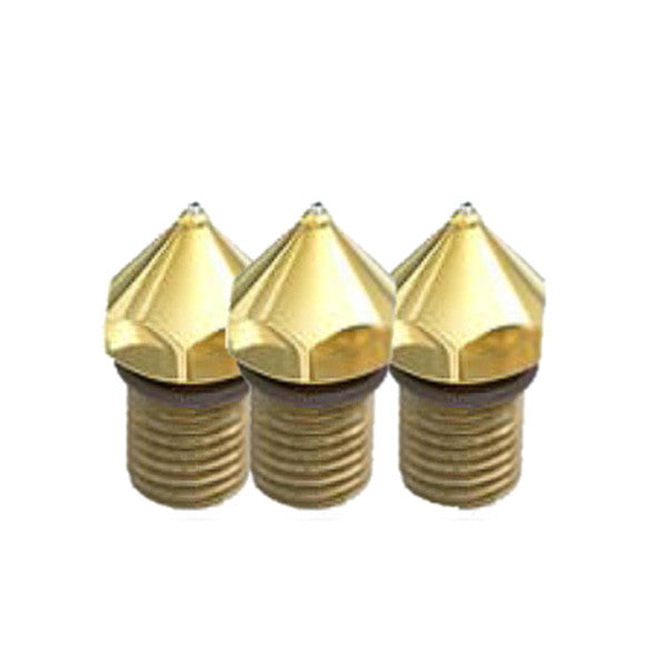 ITW L13464 Single Orifice Brass Hot Melt Nozzle without O-ring