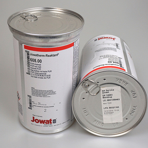 Jowat Jowatherm Reaktant 608 PUR Hot Melt in a Lined Can