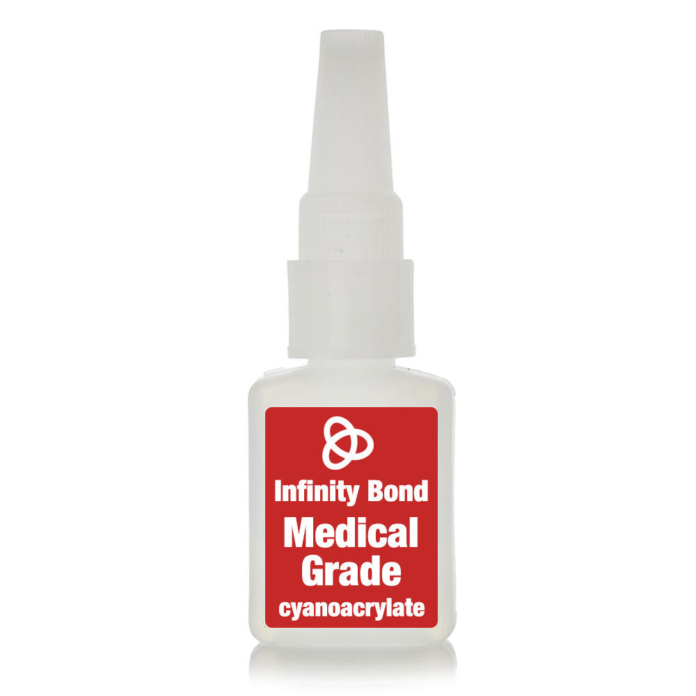 Medical grade cyanoacrylate super glue