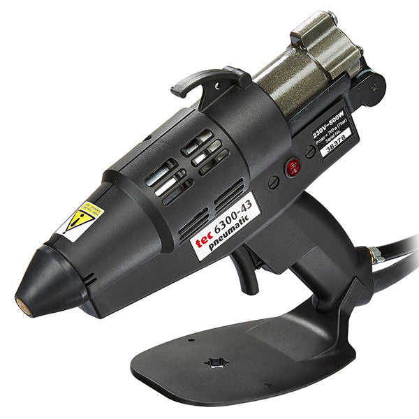 Power Adhesives TEC 6300 pneumatic spray hot melt glue gun