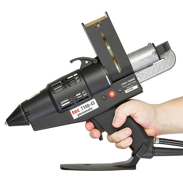 See the TEC 7100 glue gun in action