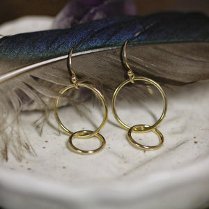 Linked Hook Earrings